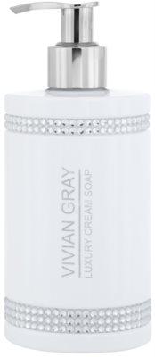 Vivian Gray Crystals White sabão cremoso de luxo