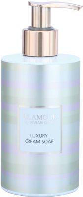 Vivian Gray Golden Glamour jabón cremoso de lujo