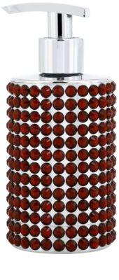Vivian Gray Precious Crystals Red sabonete líquido de luxo para mãos