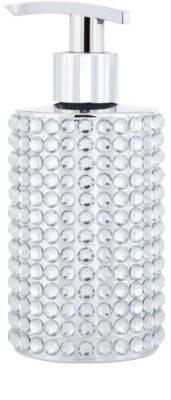 Vivian Gray Precious Crystals Silver jabón líquido de lujo para manos