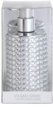Vivian Gray Precious Crystals Silver jabón líquido de lujo para manos 1