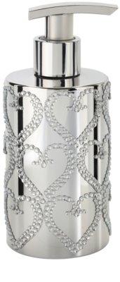 Vivian Gray Precious Silver Hearts sabonete líquido de luxo para mãos