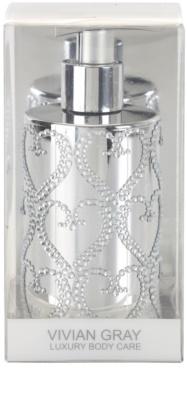Vivian Gray Precious Silver Hearts jabón líquido de lujo para manos 1