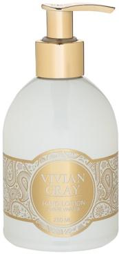 Vivian Gray Romance Sweet Vanilla leche hidratante para manos