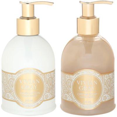 Vivian Gray Romance Sweet Vanilla lote cosmético I. 1