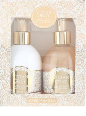 Vivian Gray Romance Sweet Vanilla lote cosmético I. 2