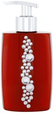 Vivian Gray Starlight Crystals Red fényűző folyékony szappan kézre