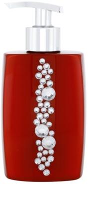 Vivian Gray Starlight Crystals Red sabonete líquido de luxo para mãos