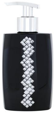 Vivian Gray Starlight Squares Black sabonete líquido de luxo para mãos