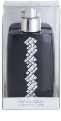 Vivian Gray Starlight Squares Black fényűző folyékony szappan kézre 1