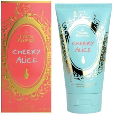 Vivienne Westwood Cheeky Alice leite corporal para mulheres