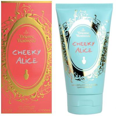 Vivienne Westwood Cheeky Alice telové mlieko pre ženy