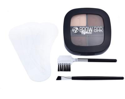 W7 Cosmetics Brow Bar szett a tökéletes szemöldökért