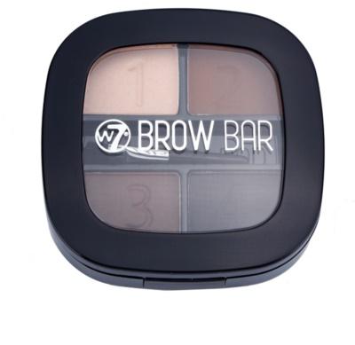 W7 Cosmetics Brow Bar sada pro dokonalé obočí 1