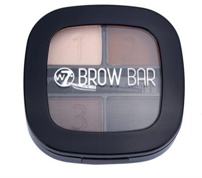 W7 Cosmetics Brow Bar kit para unas cejas perfectas 1