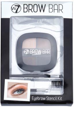 W7 Cosmetics Brow Bar sada pro dokonalé obočí 4