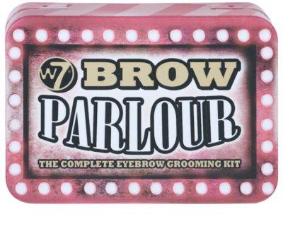 W7 Cosmetics Brow Parlour набір для моделювання  ідеальної форми брів 1