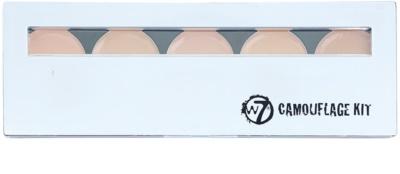 W7 Cosmetics Camouflage Kit paleta corectoare cu oglinda si aplicator 1