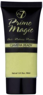 W7 Cosmetics Prime Magic Camera Ready podkladová báze proti zarudnutí