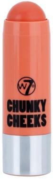 W7 Cosmetics Chunky Cheeks colorete en lápiz
