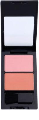 W7 Cosmetics Duo Blusher blush com pincel