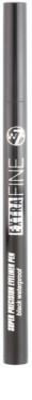 W7 Cosmetics Extra Fine resistente al agua lápiz de ojos 1