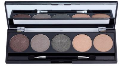 W7 Cosmetics Eye Shadow Palette mit Lidschatten inkl. Spiegel und Pinsel