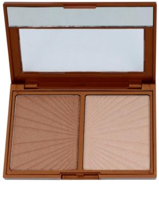 W7 Cosmetics Hollywood bronceador con un espejo pequeño