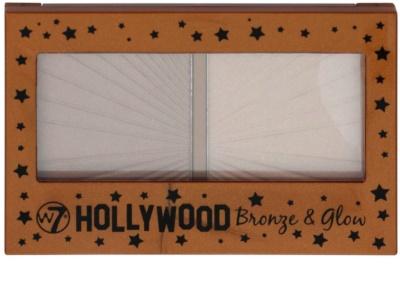 W7 Cosmetics Hollywood bronceador con un espejo pequeño 1