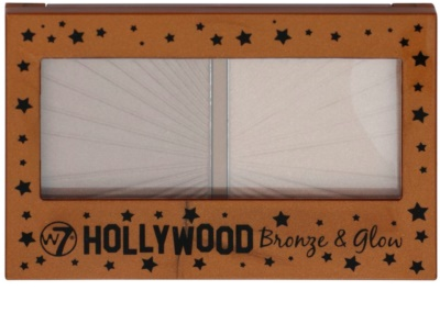 W7 Cosmetics Hollywood bronzosító tükörrel 1