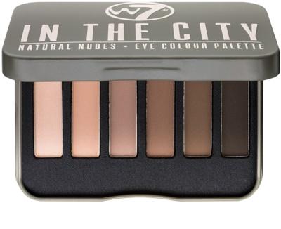 W7 Cosmetics In the City paleta de sombras de ojos
