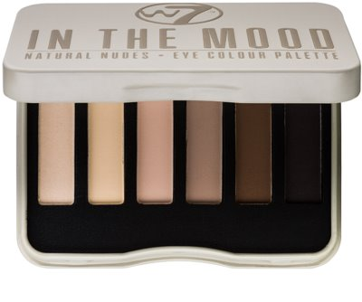 W7 Cosmetics In the Mood paleta farduri de ochi