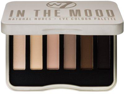 W7 Cosmetics In the Mood Palette mit Lidschatten