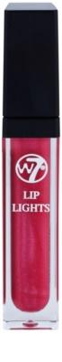 W7 Cosmetics Lip Lights lesk na rty se zrcátkem a světýlkem 1