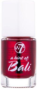 W7 Cosmetics Lip Stain lesk na rty a tváře