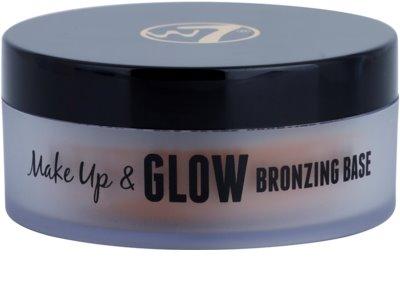 W7 Cosmetics Make Up & Glow pós bronzeadores em creme