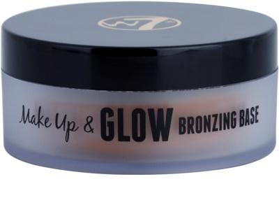W7 Cosmetics Make Up & Glow кремовий бронзер