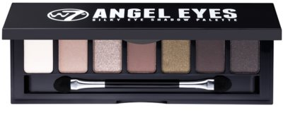 W7 Cosmetics Angel Eyes Out on the Town paleta senčil za oči z ogledalom in aplikatorjem