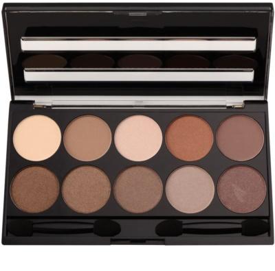 W7 Cosmetics 10 Out of 10 szemhéjfesték paletták