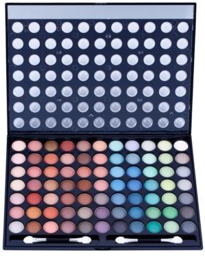 W7 Cosmetics Paintbox paleta cieni do powiek z lusterkiem i aplikatorem