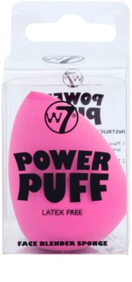 W7 Cosmetics Power Puff csepp alakú make-up szivacs 1
