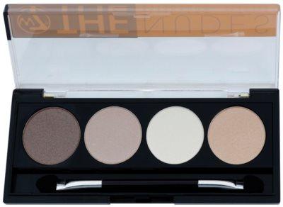 W7 Cosmetics The Nudes paleta senčil za oči z aplikatorjem