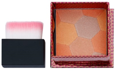 W7 Cosmetics The Honey Queen blush com pincel