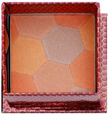 W7 Cosmetics The Honey Queen blush com pincel 1
