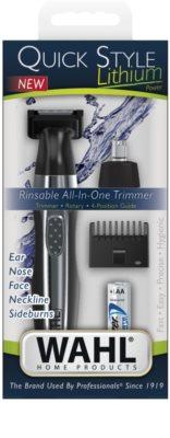 Wahl Quick Style Lithium aparador de pêlos para rosto 2