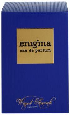 Wajid Farah Enigma eau de parfum unisex 1