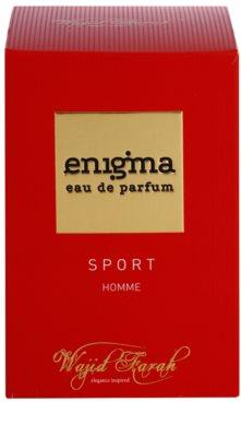 Wajid Farah Enigma Sport Eau de Parfum para homens 1