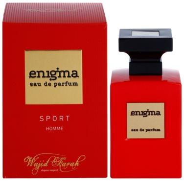 Wajid Farah Enigma Sport Eau de Parfum para homens