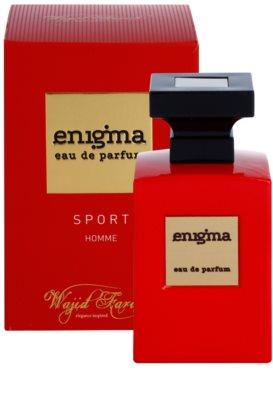 Wajid Farah Enigma Sport eau de parfum para hombre 2