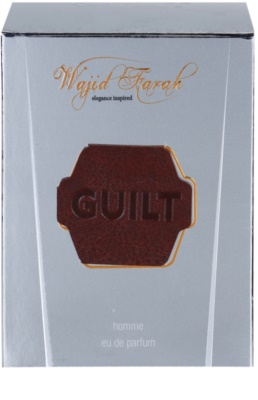 Wajid Farah Guilt Eau de Parfum for Men 4